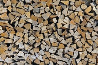 Holzscheite, Brennholz, Deutschland, Europa