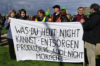 Anti-Atomkraft-Demo in Berlin