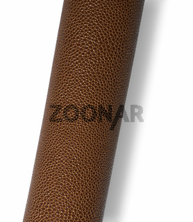 rolled brown grained surface