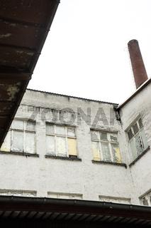 Produktionsgebäude einer alten Seifenfabrik