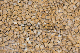 small yellow stones background