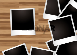 desk instant photo