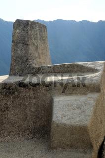 Sonnenstein Machu Picchu Peru