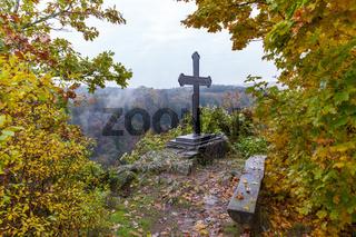 Herbstimpressionen aus dem Selketal im Harz Mägdetrappe