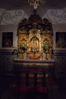 The chapel of the bull fighters at Seville, Spain, Europe