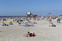 Strand, St. Peter-Ording, Nordfriesland, Schleswig-Holstein, Deutschland, Europa