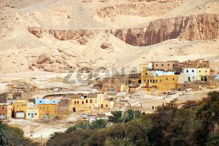 Ancient Egyptian village