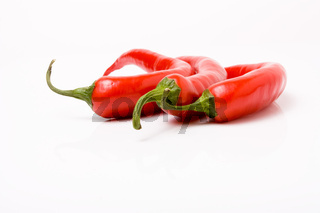 vibrant red chillis