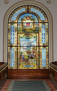 Bleiglasfenster, Parlamentsgebäude Quebec