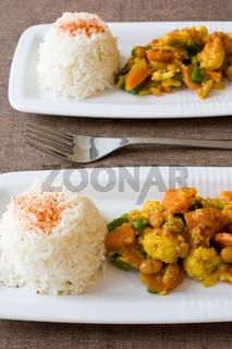 Afrikanisches Gemüsegericht - African Dish