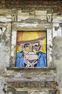 Painting of an old man