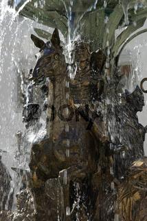 Brunnenanlage Schloss Zeil
