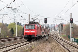 S-Bahn Dresden bei Radebeul