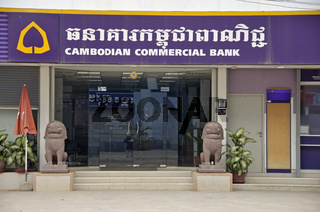 Bank in Kambodscha