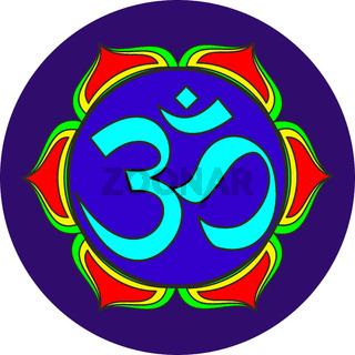om sacred sound symbol