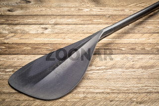 blade of carbon fiber  canoe or SUP paddle
