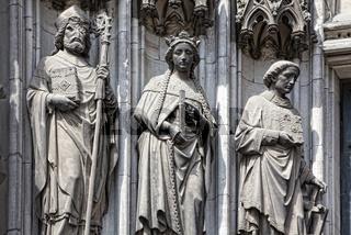 Figuren am Kölner Dom, Köln