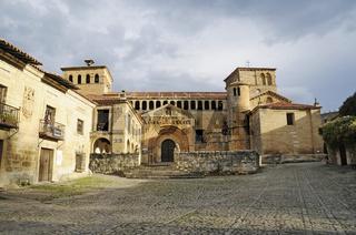 Romanesque collegiate church