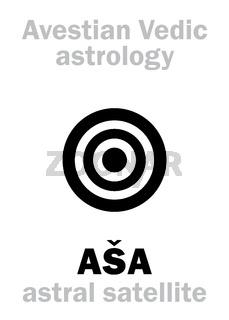 Astrology: astral planet ASA (Asha)