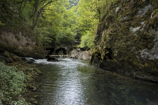 Quelle des Flusses Sanica, Bosnien