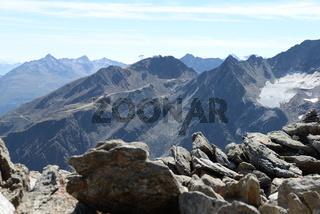Berge im Ötztal