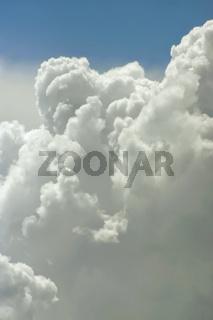 Cloud close up background
