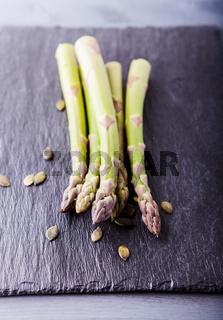 Fresh vegetarian food. Asparagus