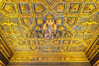 Interior of Zaragoza Palace