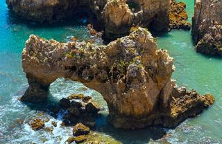 Ponta da Piedade cape(Lagos, Algarve, Portugal).