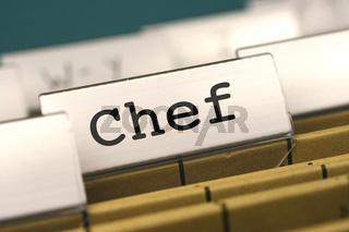 Aktenordner, Chef