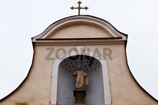Church in Old Tallinn, Estonia