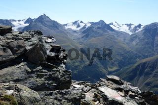 Auf dem Wilden Mannle, Ötztaler Alpen