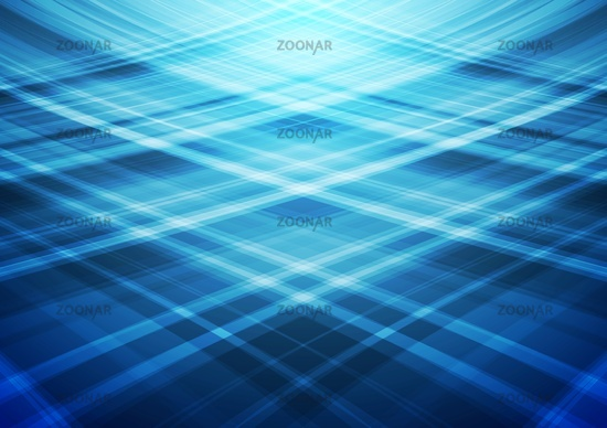 Blue wavy lines abstract background