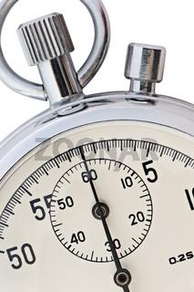 Stopwatch closeup