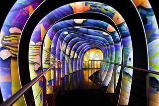 Inside of Swarovski Museum