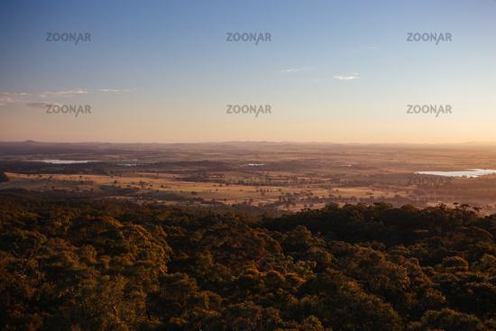 Mt Tarrengower View in Australia