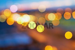 Abstrakter Hintergrund aus Licht