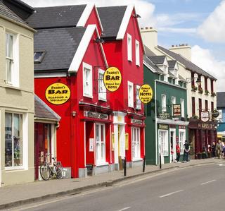 Straße in Dingle, C. Kerry, Irland