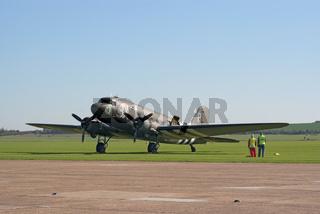 Douglas DC-3 transport plane