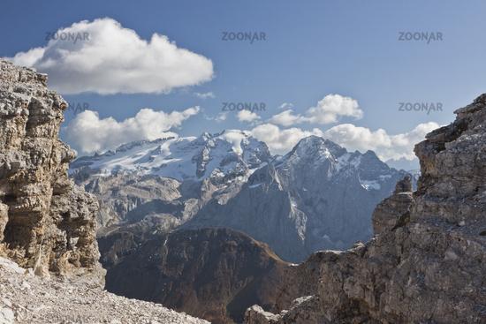 Marmolada, Dolomiten, Italien