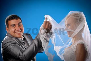 Loving newlyweds