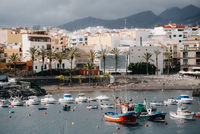 Beautiful View on Tenerife Island, Spanish tourism place in Europe