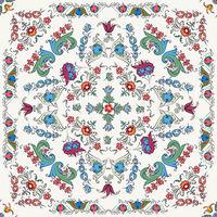 Rosemaling vector pattern 3