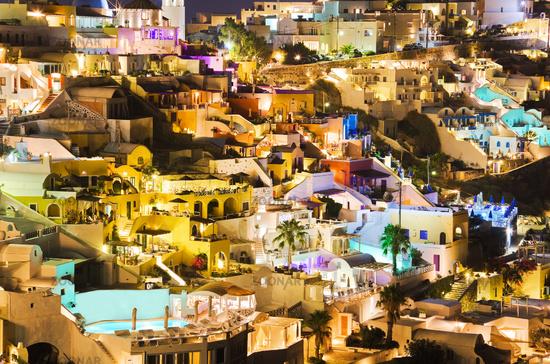 Santorini night - Greece