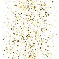 Confetti background. Golden holiday texture