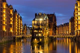 Wasserschloss in Hamburg