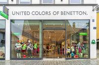 Filiale der Firma United Colors of Benetton in Kempten