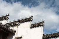 chinese traditional architecture against a blue sky