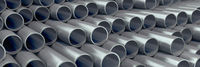 Many metal pipes