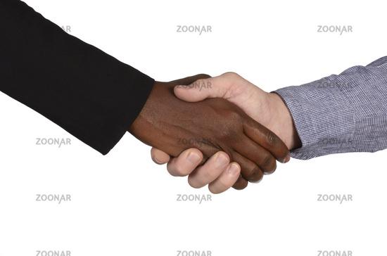 Händeschütteln international